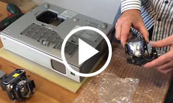 O vídeo sobre a substituição Sony